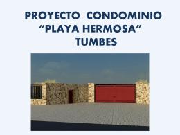 Proyecto Playa Hermosa