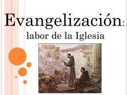 Evangelizacion - Colegio Intercultural Trememn