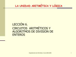 LEC_6 - Departamento de Informática