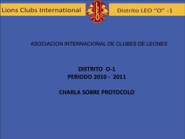 taller de protocolo leoistico
