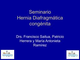 Seminario Hernia Diafragmática congénita