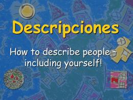 Descripciones