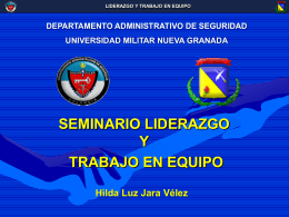 Liderazgo Hilda Luz Jara Vélez