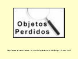 los_objetos_perdidos