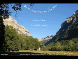 Vallée d`Ordesa - Les Topos Pyrénées par Mariano