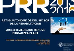 Contexto / Testuingurua - Retos de la rehabilitación urbana en el