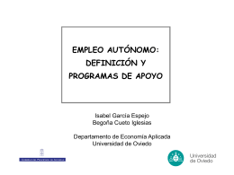 Empleo Autónomo: Definición y programas de apoyo