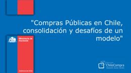 Compras públicas en Chile, consolidación y desafíos de un modelo