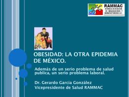 OBESIDAD: La otra epidemia de México.