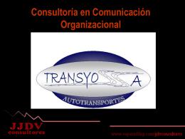Consultoría en Comunicación Organizacional Antecedentes
