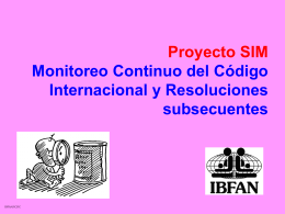 Proyecto SIM - ibfan-alc