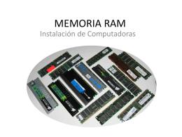MEMORIA RAM - EPET Nro. 3
