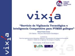 Qué es VIXíA?