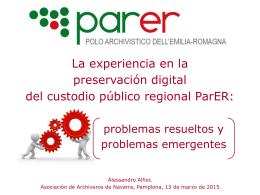 Parer - Regione Emilia
