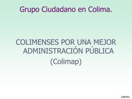 Presentación COLIMA