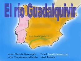 El rÃo Guadalquivir - Aula Virtual del CEP de Castilleja de la Cuesta