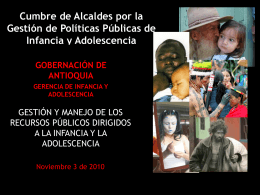 PRESENTACIÓN GOBERNACION DE ANTIOQUIA