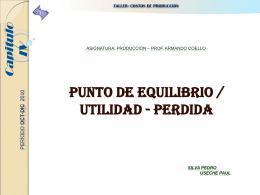 PRESENTACION COSTOS CAPITULO IV_USECHE