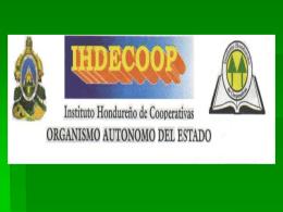 IHDECOOP - Alianza Cooperativa Internacional en las Américas