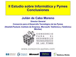 Conclusiones del II Estudio sobre uso de Tecnología en la pyme y