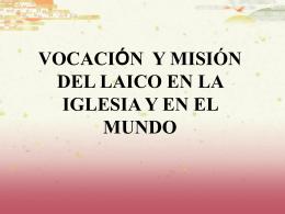 SerLaico - Animación Misionera