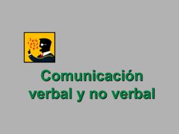 COMUNICACION NO VERBAL.