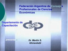 Caja y Bancos - Consejo Profesional de Ciencias Economicas de
