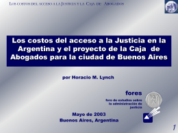 No Slide Title - Lynch & Asociados