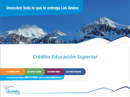 DESCARGA Crédito Educación Superior de Caja de