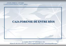 ppt - Caja Forense de Entre Ríos