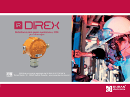 50_607_E-DIREX-v03 - DTGAS · Sistemas de Detección de