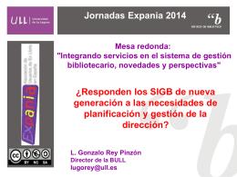 Jornadas Expania 2014
