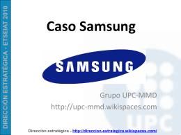 SAMSUNG - UPC-MMD