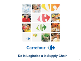 Overview of the Carrefour group - Encuentro Alimarket Logística