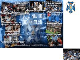 información - CD Tenerife