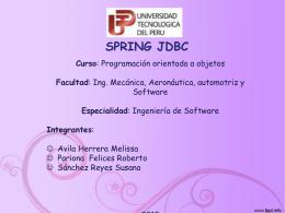 SPRING JDBC Curso