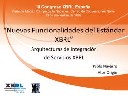 Pablo Navarro - Asociación XBRL España