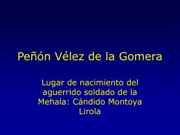 Peñón Vélez de la Gomera