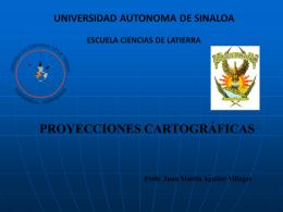 Diapositiva 1 - Facultad de Ciencias de la Tierra y el Espacio