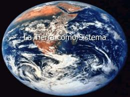 La Tierra como Sistema
