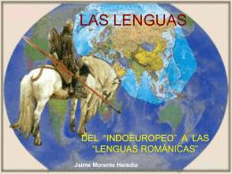 Indoeuropeo - IES Fuente de la Peña