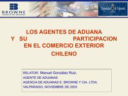 Los agentes de aduana y su participación en el comercio exterior