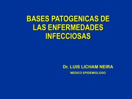 Bases Patogénicas de las Enfermedades Infecciosas