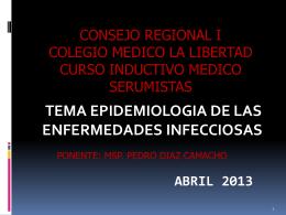 Enfermedades infecciosas prevalentes en la región macronorte