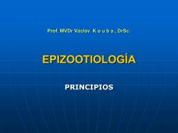 EPIZOOTIOLOGÍA