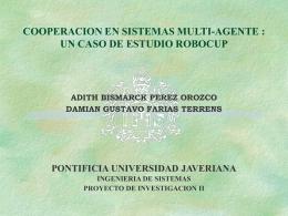 avance proyecto de investigacion ii - Trabajos de Grado | Ingeniería