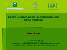 Ponencia Jose Ortiz - Agencia de Obra Pública de la Junta de