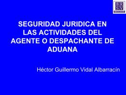 presentación asamblea brasil 2011: hector guillermo vidal