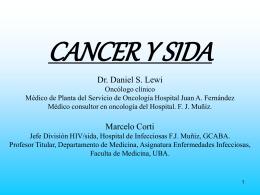 cancer y sida - Asociación Argentina de Oncología Clínica