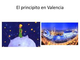 El principito en Valencia